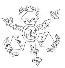 rangoli design special for diwali coloring page netart