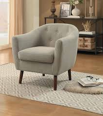 Beige Accent Chair Homelegance Lucille Accent Chair Beige 1192be