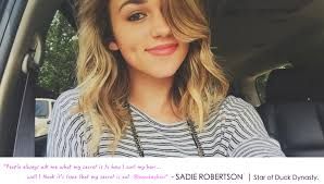 sadie robertson hair and beauty press bombay hair is celebrity status