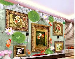 online get cheap tulip wall mural aliexpress com alibaba group custom 3d wallpaper europe and the united states wind retro tulip oil painting background wall mural