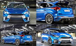 Ford Focus Colours 2016 Ford Focus Rs Usa