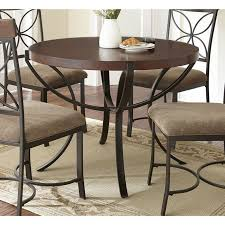 round table van ness 33 best metal base for round granite kitchen table images on