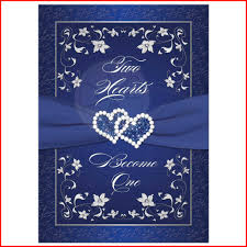 royal blue and silver wedding new royal blue and silver wedding invitations image of wedding
