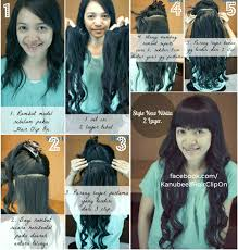 hair clip murah 9 best hair clip extension 2 layers bisa catok curling images on