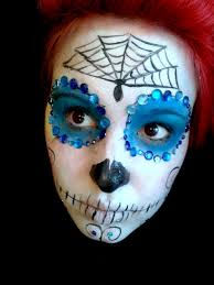 Sugar Skull Halloween Makeup Tutorial by Sugar Skull Make Makeup Tutorial Youtube