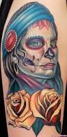 Skull Viewer Gypsy Sugar Skull Tattoo Design Tattoo Viewer Com