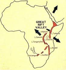 africa map great rift valley adventure holidays in africa s great rift valley rift valley
