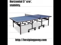prince challenger table tennis table prince advantage review youtube