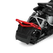 elite pro rear bumper red polaris snowmobiles