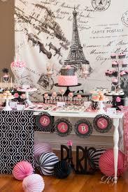 parisian baby shower