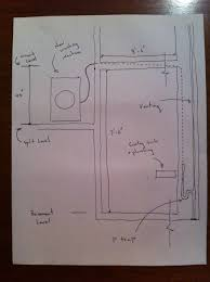 plumbing where to locate p trap and venting in complicated