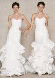 winter wedding dresses 2011 oscar de la renta wedding dresses fall 2011 wedding inspirasi