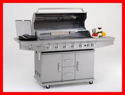 aussenküche edelstahl coobinox edelstahl gasgrill 6 brenner grill grillwagen