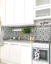Kitchen Set Minimalis Hitam Putih Model Motif Keramik Dapur Dapur Minimalis Idaman Pinterest