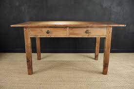 Two Drawer Pine Farmhouse Kitchen Table Gilboys - Kitchen table with drawer
