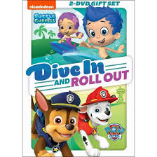 paw patrol bubble guppies dive roll target