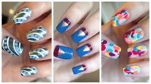 nail art surprising nail art easy pictures ideas for beginners