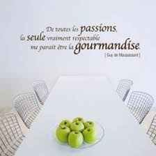 cuisine et citation stickers citation et gourmandise 3