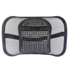 amazon com lumbar mesh back support by fomi care for car