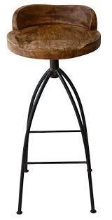 rustic industrial bar stools mom boyd blue hinkley swivelling bar stool rustic industrial