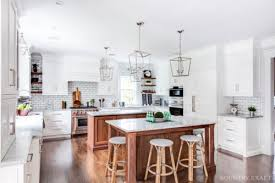 Kitchen With Two Islands Transitional Kitchen With Two Kitchen Islands In Madison New Jersey
