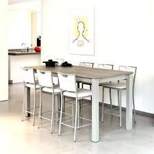 table de cuisine haute avec tabouret table cuisine avec tabouret magnetoffon info