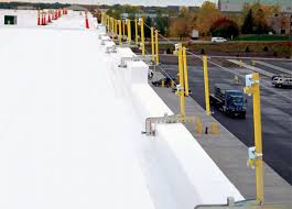 Temporary Handrail Systems Roof Access Ladders Fall Protection Guardrail Systems