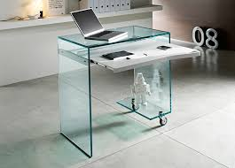 Tonelli WorkBox Glass Desk  Glass Desks  Home Office Furniture
