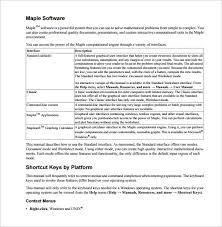 instruction manual samples