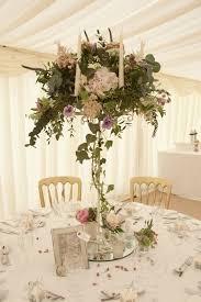 9 x cream shabby chic 6 arm candelabra wedding candle u0026 flower