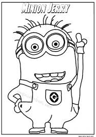 pin magic color book minions coloring pages free