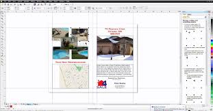 how to create a brochure template corel discovery center
