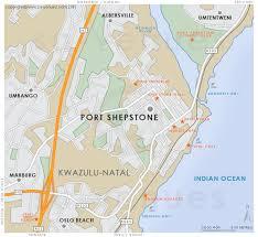 map port port shepstone map