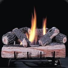 ventless fireplace logs binhminh decoration