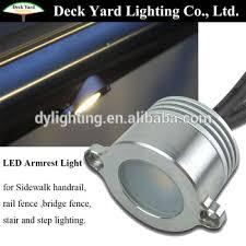 corrimano luminoso ringhiera ha condotto la luce 12 v led per ringhiera led
