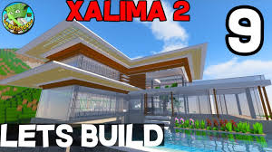 minecraft lets build xalima 2 09 modern concept house youtube minecraft lets build xalima 2 09 modern concept house