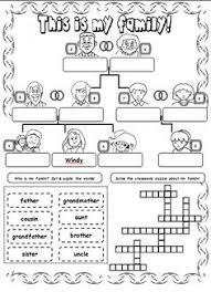 family tree worksheet free esl printable worksheets made by