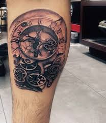 manly old clock tattoos for guys 纹身 pinterest clocks