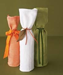 wine bottle wraps creative gift wrapping ideas real simple