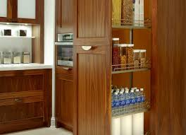 kitchen furniture pantry cupboard beautiful cherry wood pull out storage kitchen cabinet