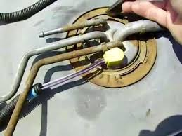 replace a fuel pump in a 1995 gmc 5 7 youtube