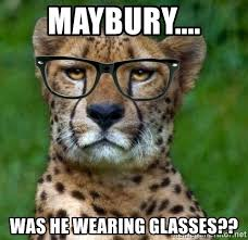 Hipster Glasses Meme - maybury was he wearing glasses hipster cheetah meme generator