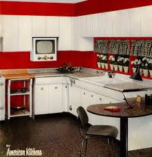 six kitchen designs from 1953 avco american kitchens retro postwar design really is split into two periods