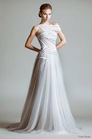 white and grey wedding dress tony ward 2014 bridal collection wedding inspirasi page 2