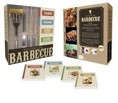 coffret livre de cuisine barbecue anneauxfourneaux