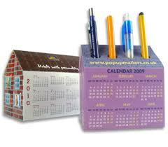 Desk Calendar Custom Bespoke Promotional Desk Calendars Custom Pop Up Calendars