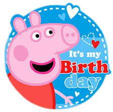 peppa pig birthday coloured sugar peppa pig party