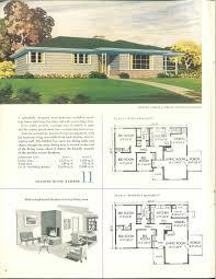1952 the celotex book of home plans vintage house plans 1950s