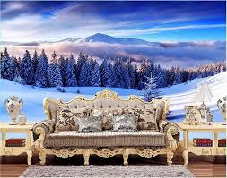 high quality winter landscape wallpaper promotion shop for high