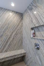 Shower Wall Ideas by Shower Idea Granite Shower Walls And Seat Built In Shower